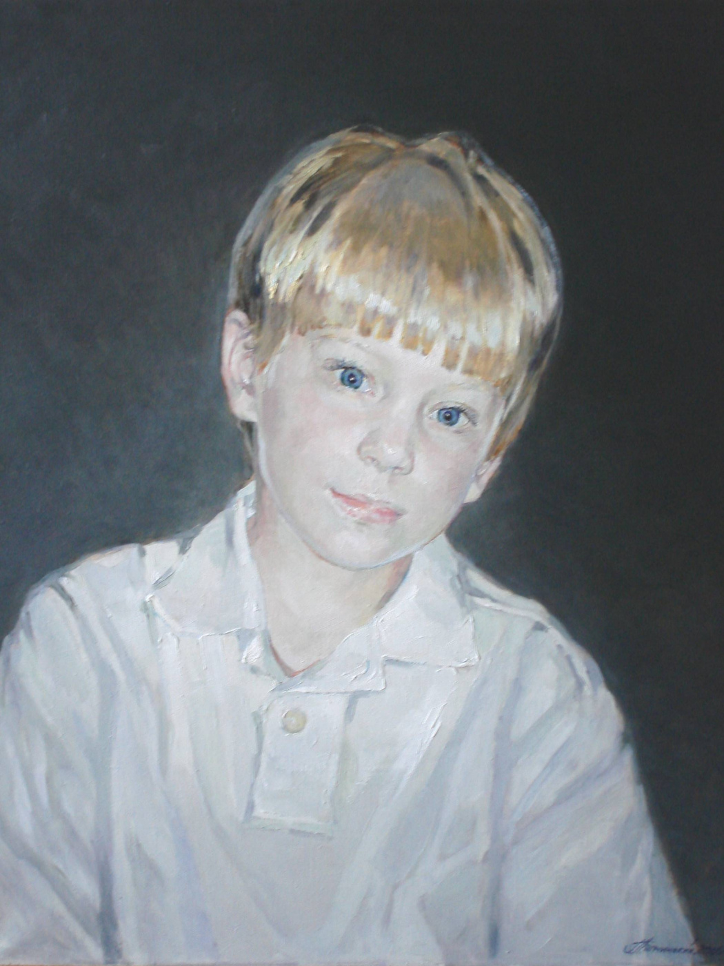 George Lapchinsky. Boy