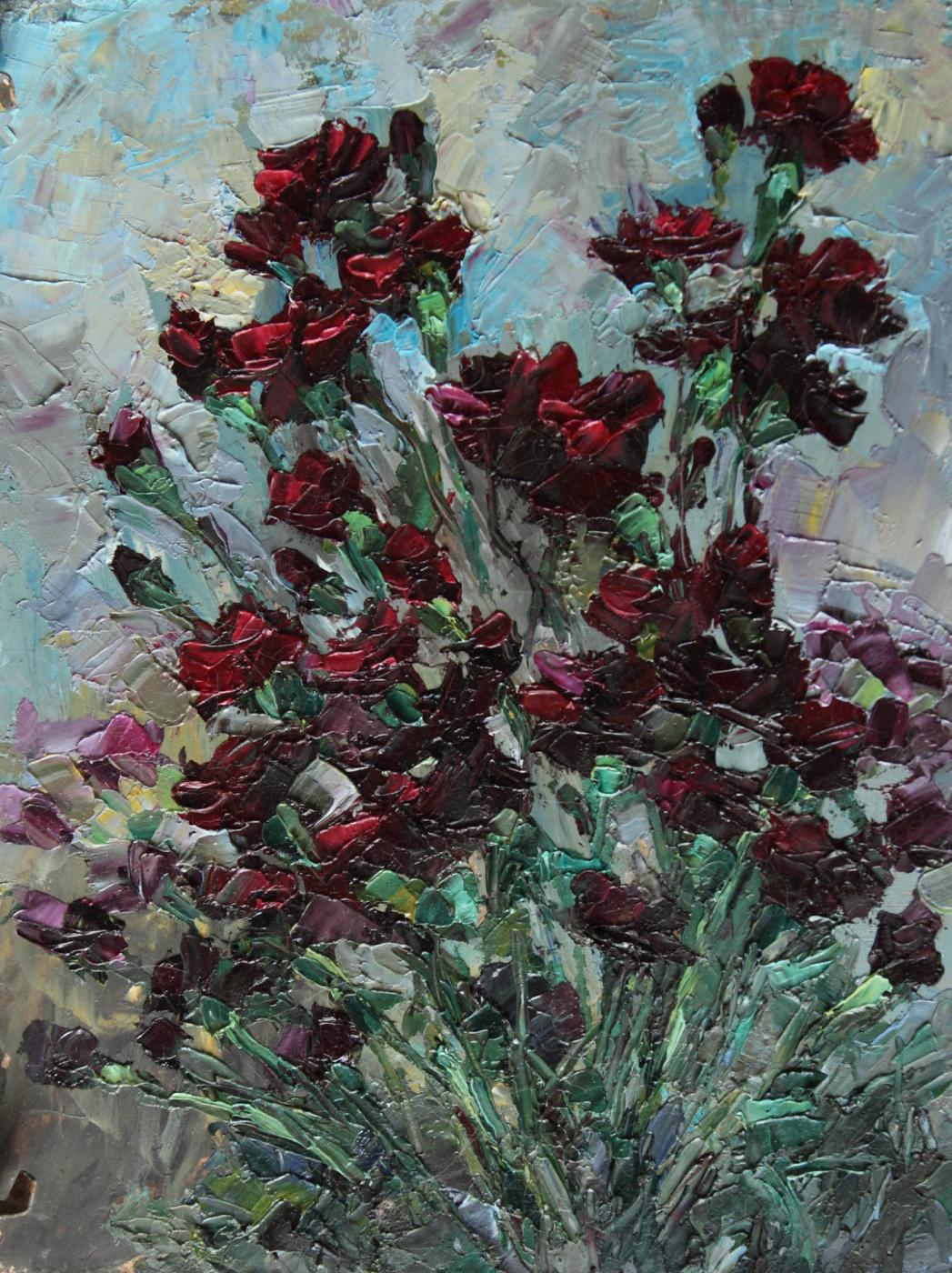 Svetlana Holodnyak. Ordinary bouquet
