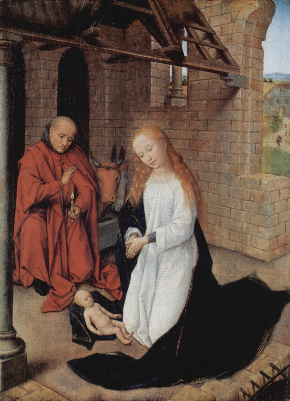Hans Memling. The Birth Of Christ