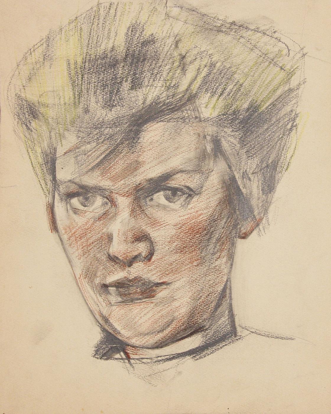Victor Ivanovich Zaretsky. Portrait Of Alla Horska