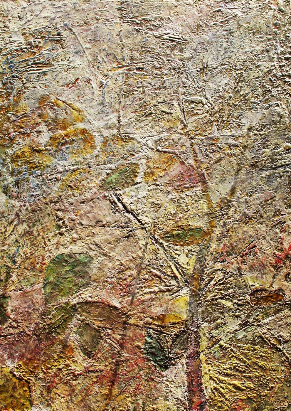 Alexander Ivanovich Vlasyuk. Foliage patterned shadow