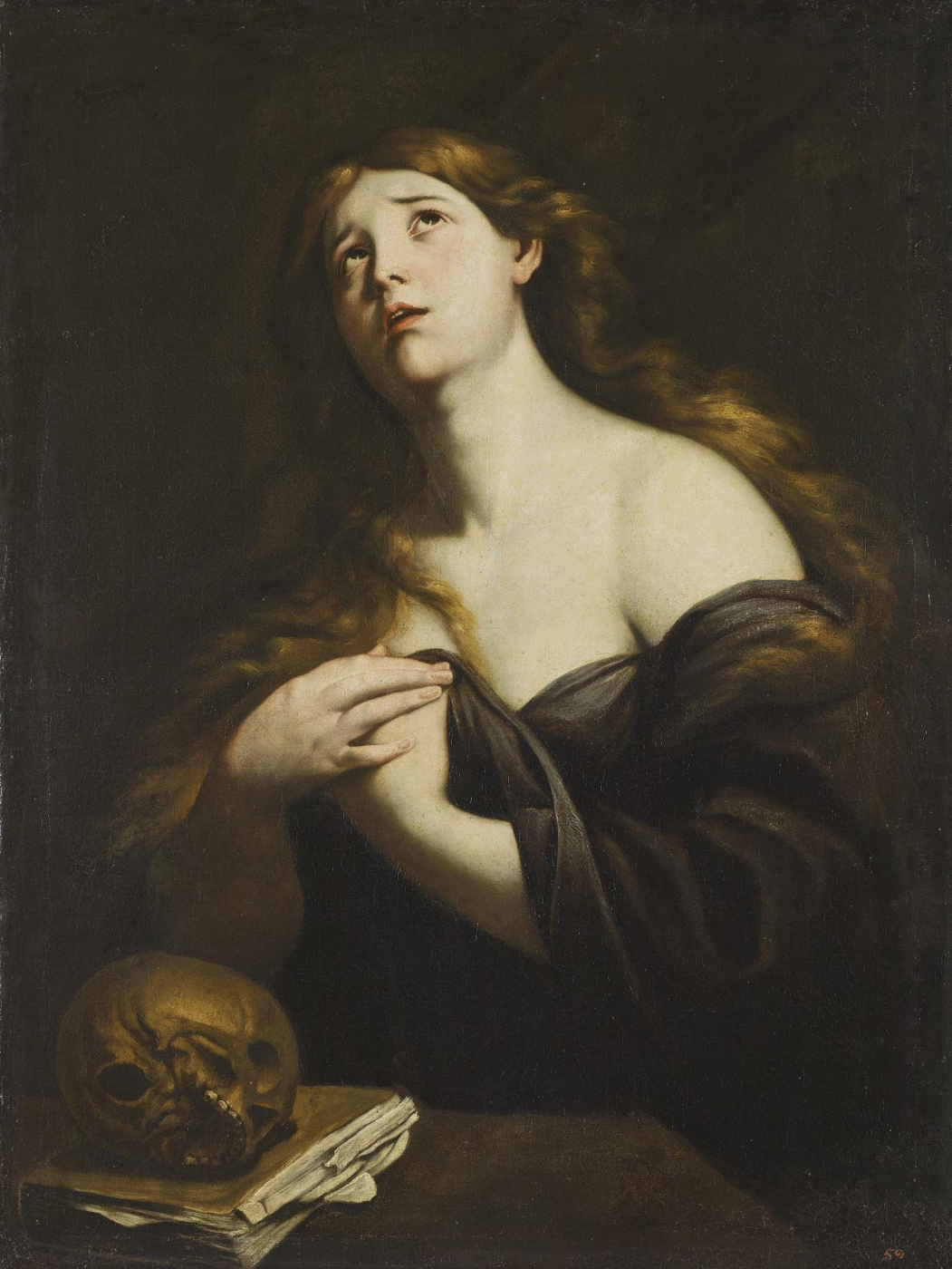 Andrea Vaccaro. Penitent Mary Magdalen