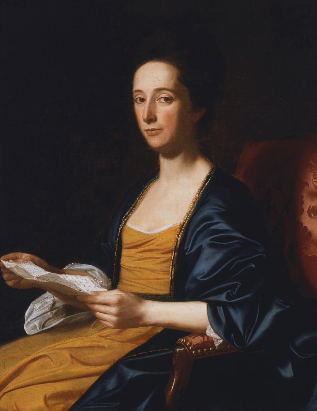 John Singleton Copley. Portrait of a woman