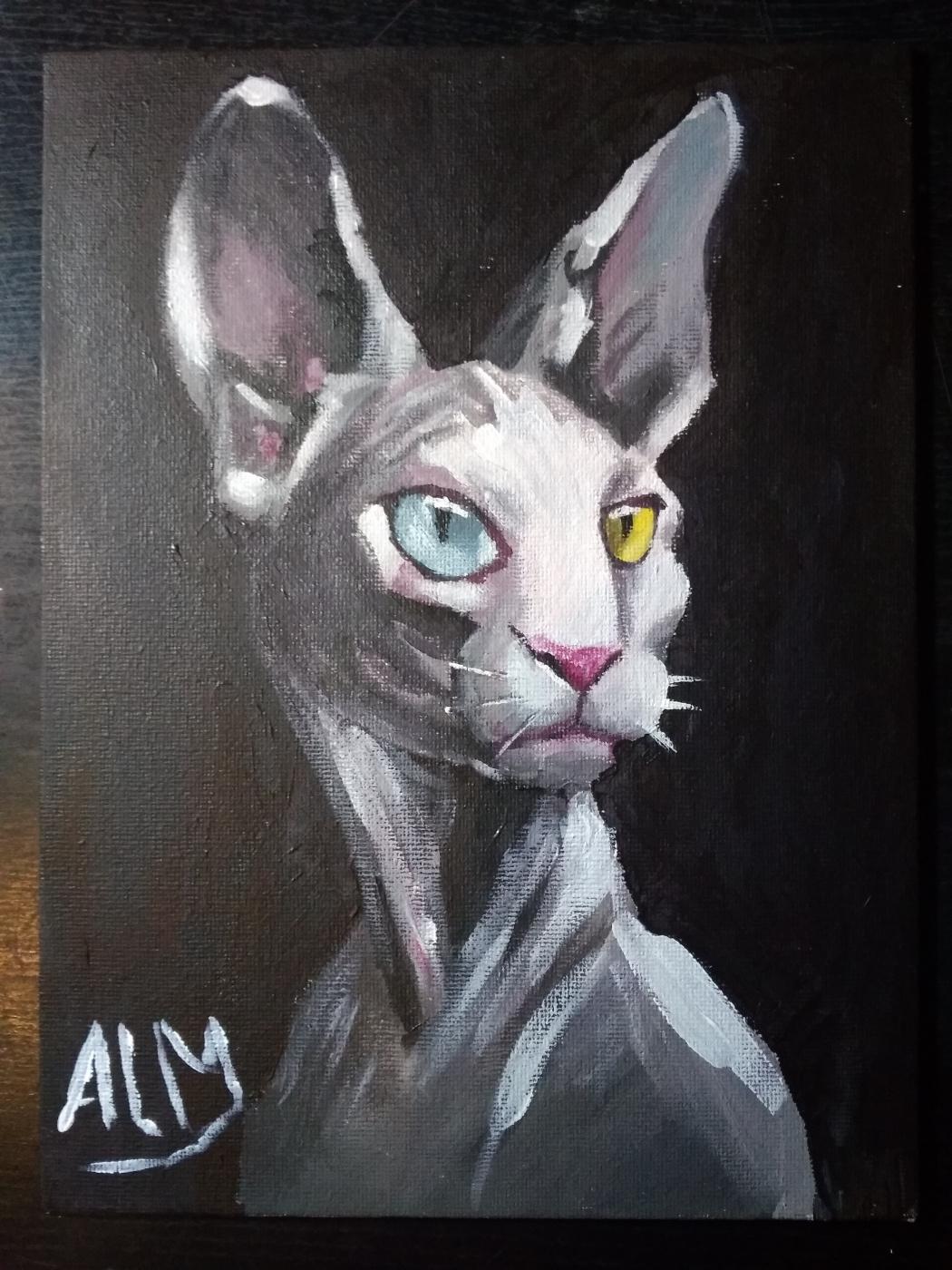 Alexandra Midwich. Cat