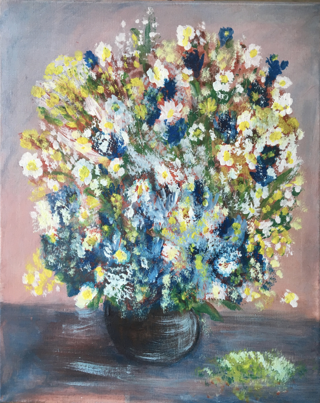 Mihails (Mikhail) Valentinovich Ribenko (Rybenko). Flower mood