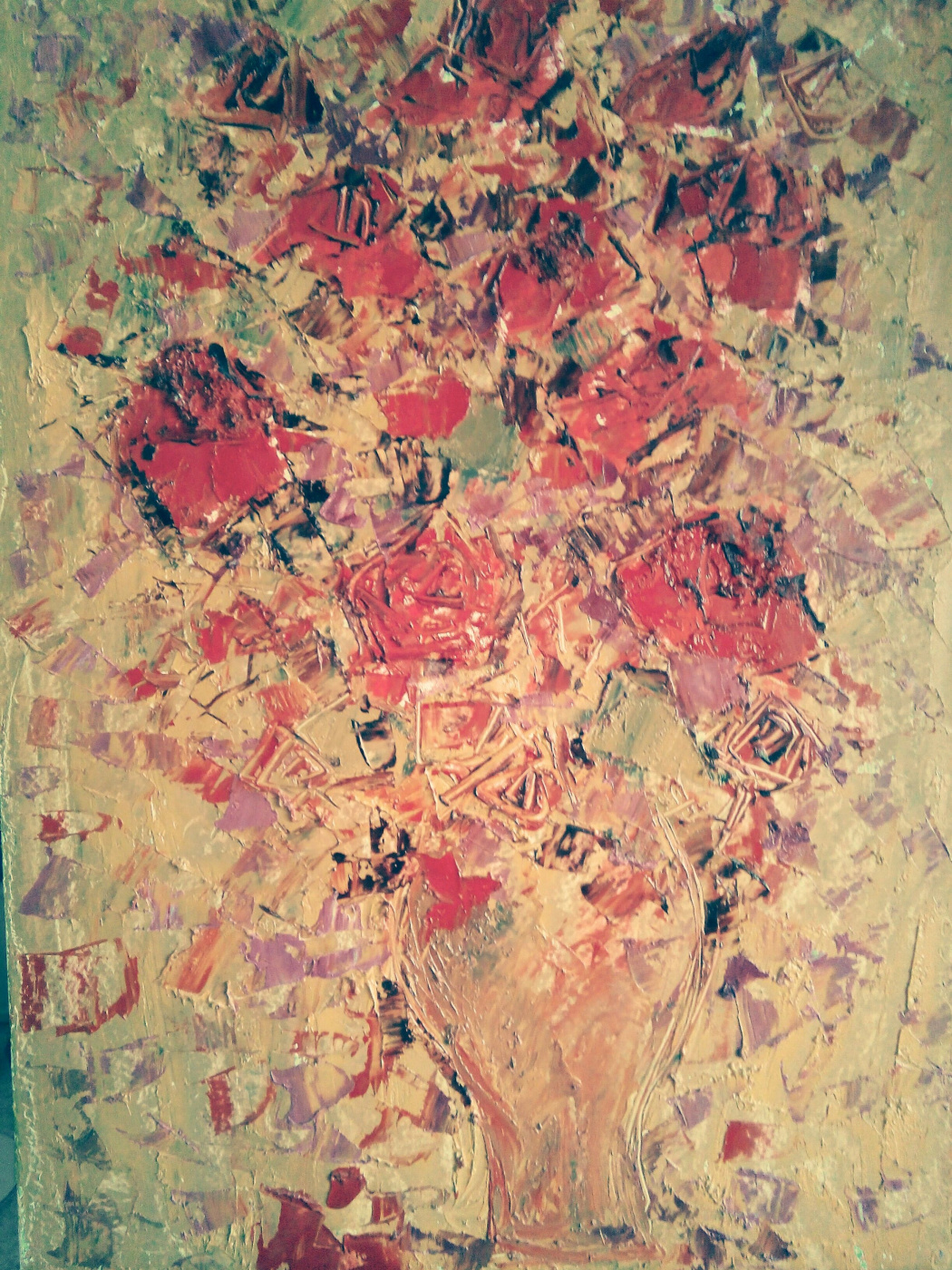 Suren Ayvazyan. Bouquet in a vase