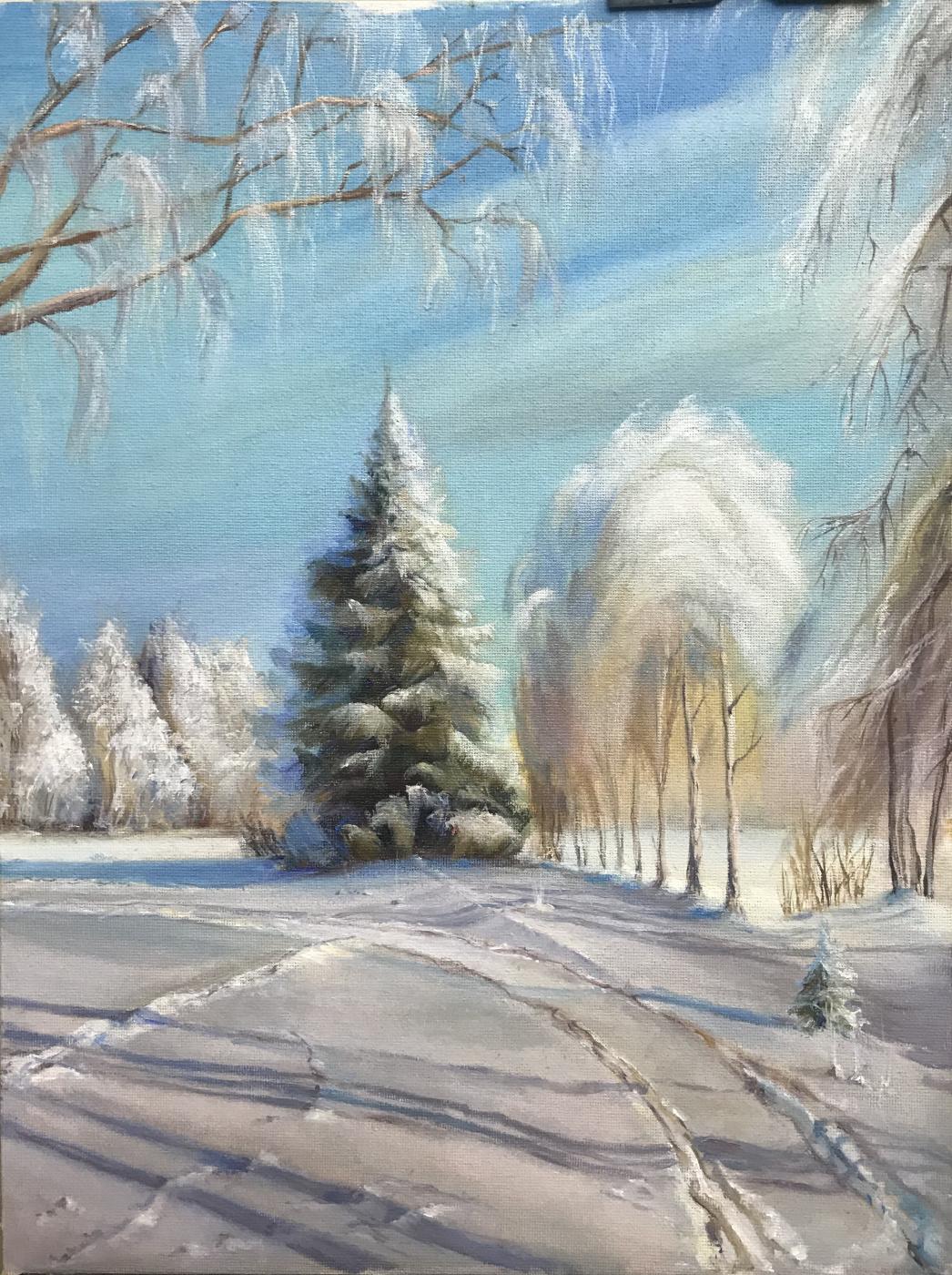 Светлана Иванова. Frosty day