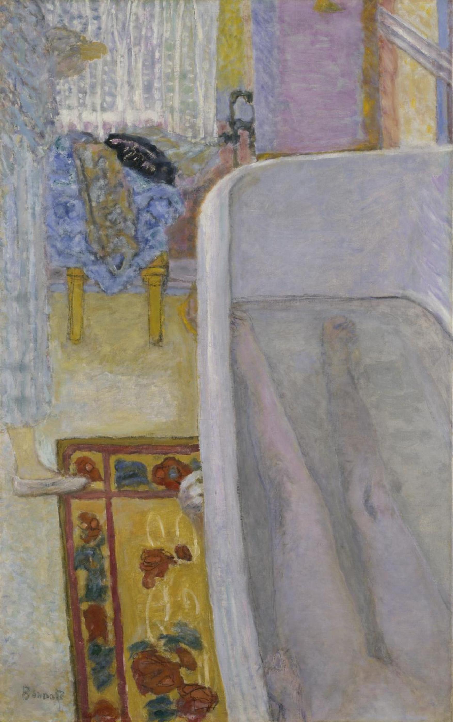 Пьер Боннар. Обнаженная в ванной