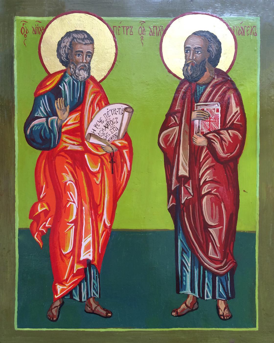Sergey Vladimirovich Skorobogatov. Supreme Apostles Peter and Paul