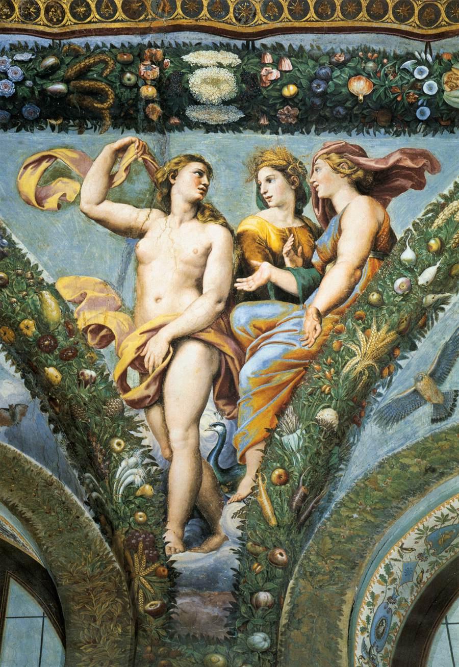 Giovanni yes Udine. Венера, Церера и Юнона