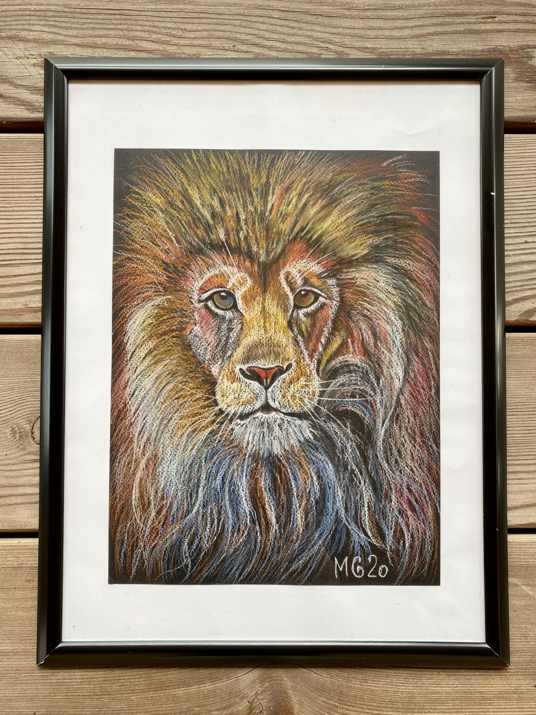 Maria Grekova. Lion king
