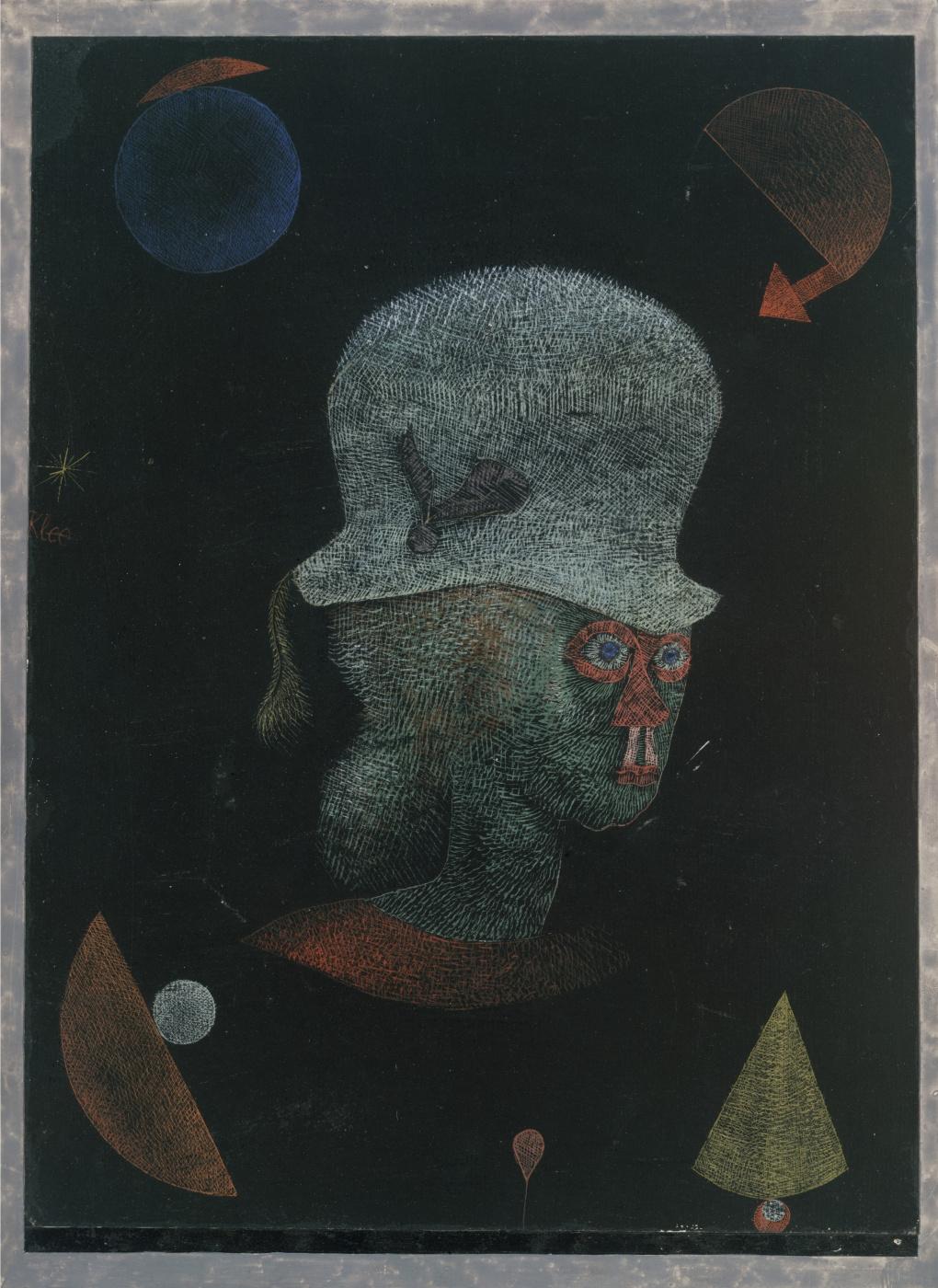 Paul Klee. Astrological fantasy portrait