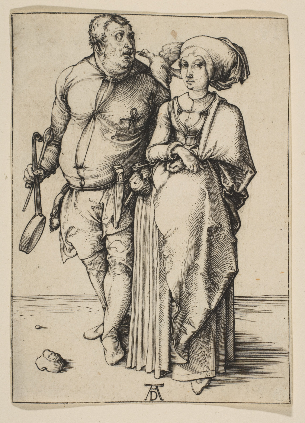 Albrecht Dürer. The chef and his wife