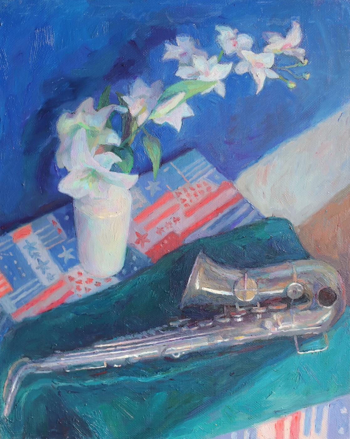 Anastasia Alexandrovna Zaitseva. Jazz for breakfast
