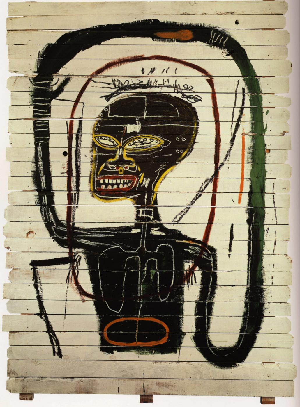Jean-Michel Basquiat. Flexible
