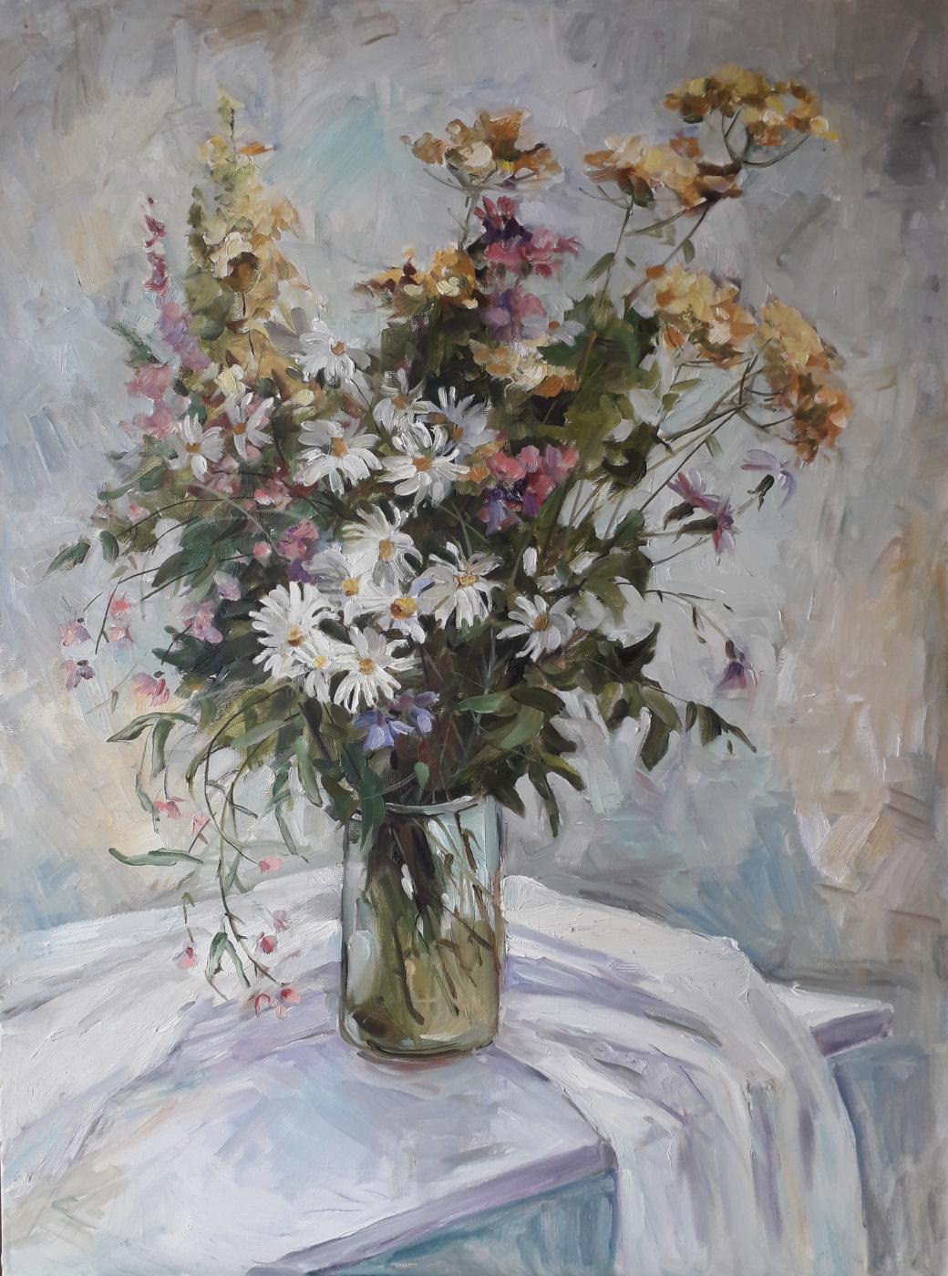 Lyudmila Lvovna Khlebnikova. Bouquet of wildflowers