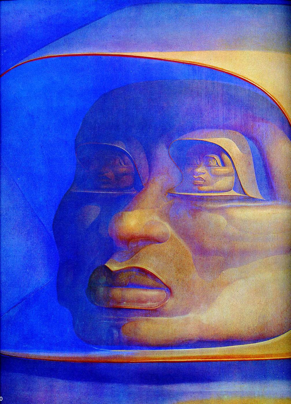 Ernst Fuchs. The observer in infinity