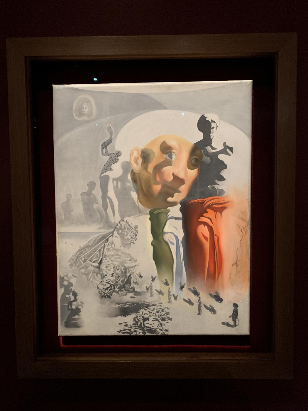 Salvador Dale. Hallucinogenic bullfighter. Sketch