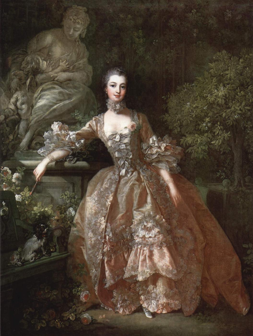Francois Boucher. Portrait of Madame Pompadour
