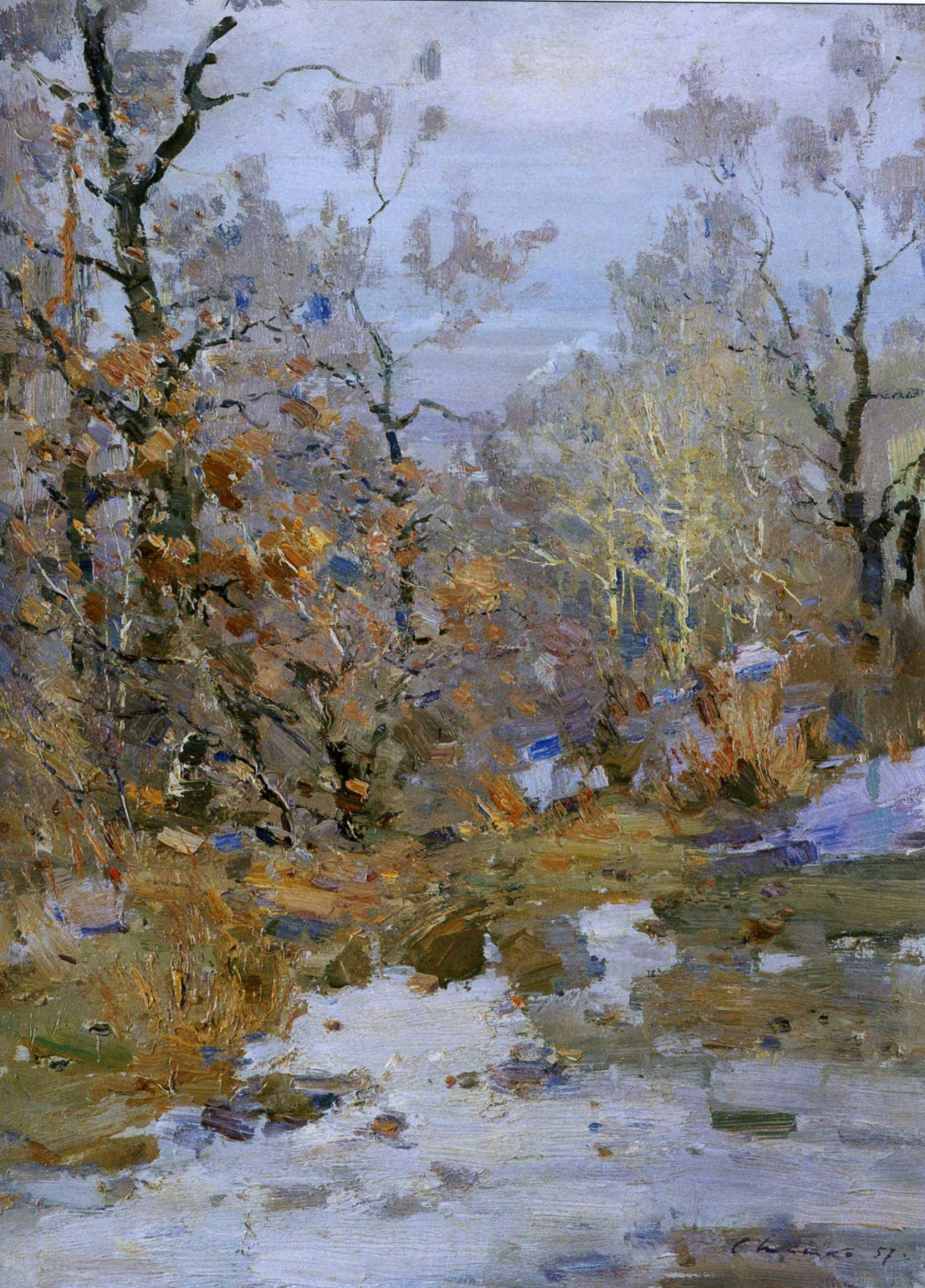Sergey Fedorovich Shishko. Spring is coming