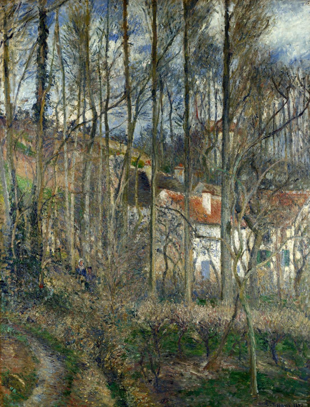 Camille Pissarro. Côte des Bœufs at L'Hermitage