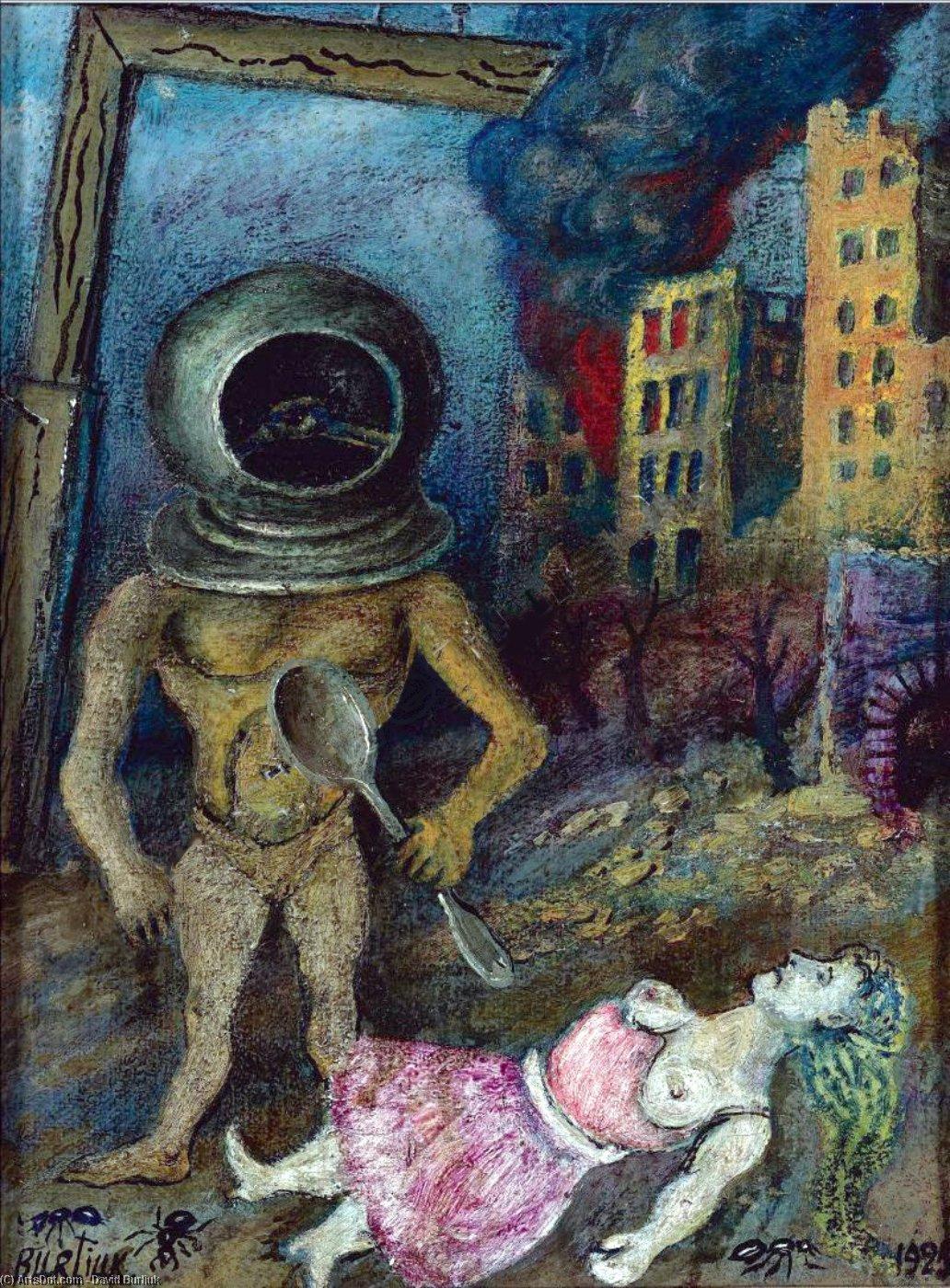 David Davidovich Burliuk. Surrealist composition