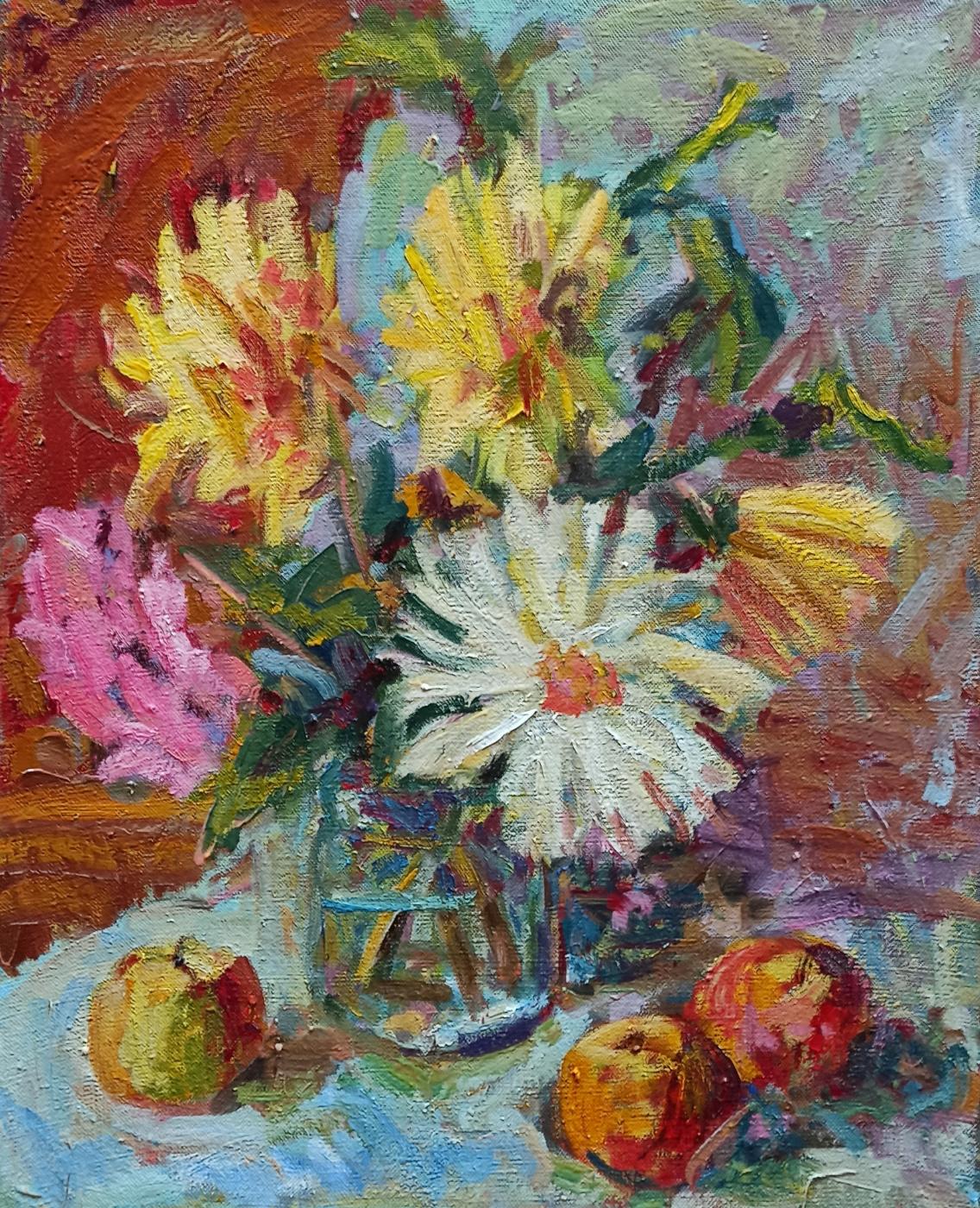 Ilida Yamaltdinova. Flowers and apples