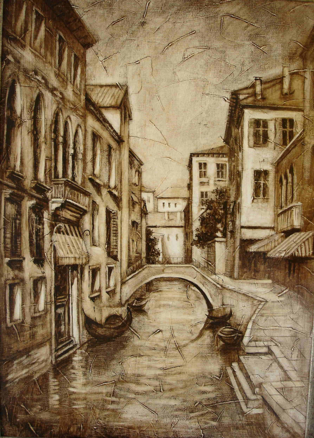 Grant Volodyaevich Sukiasyan. Venice in shades