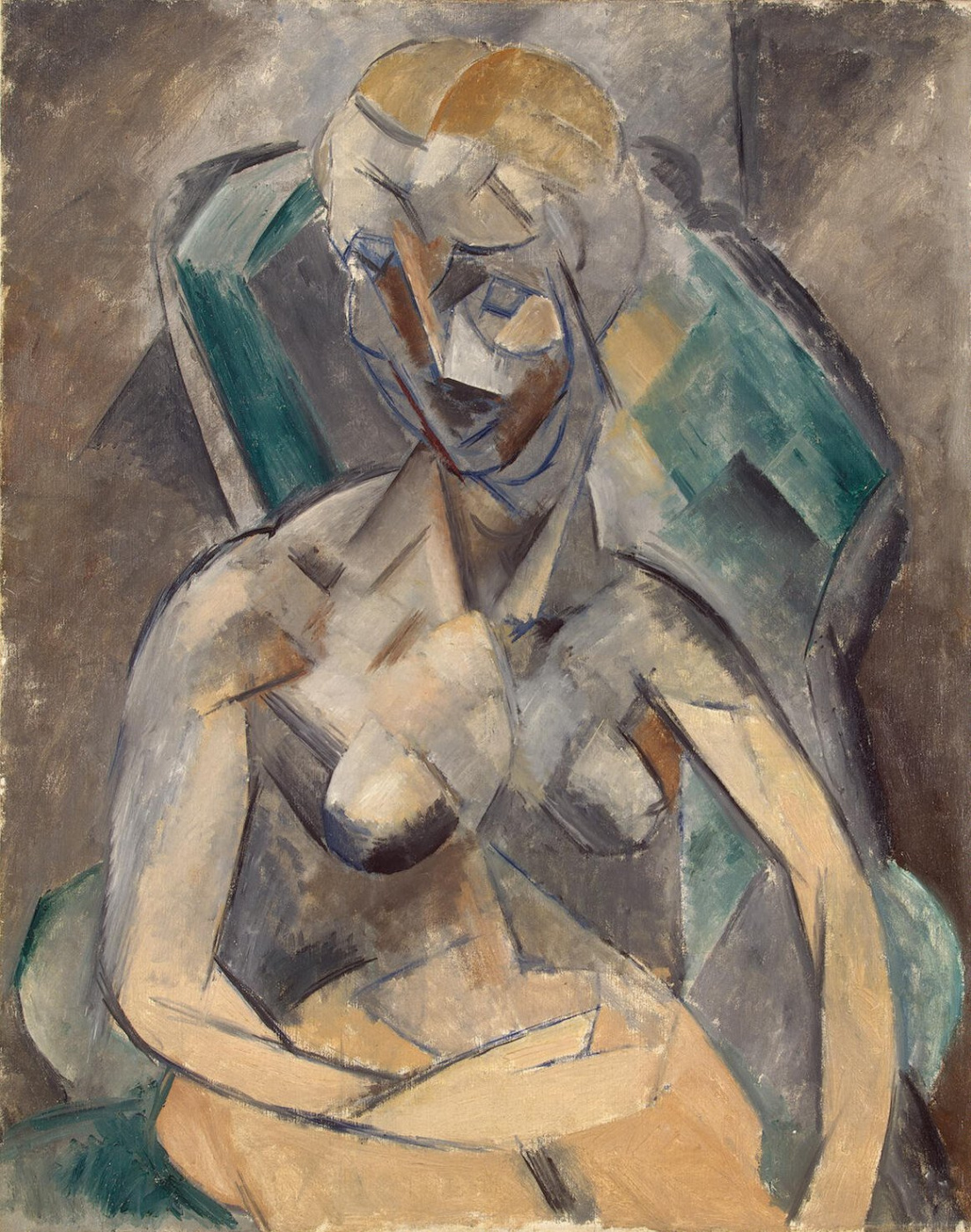 Pablo Picasso. Young lady