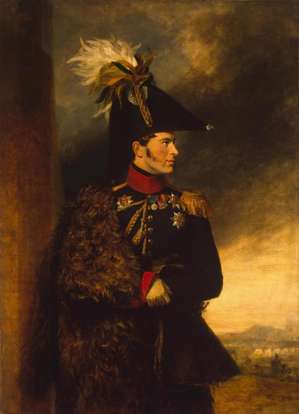 George Dow. Portrait of Alexander Sergeevich Menshikov
