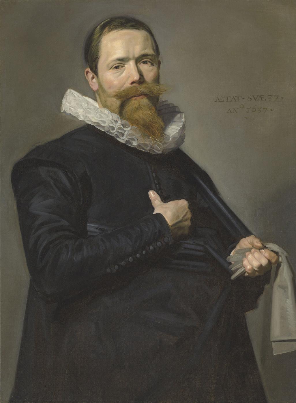 Frans Hals. Портрет господина в возрасте 37 лет