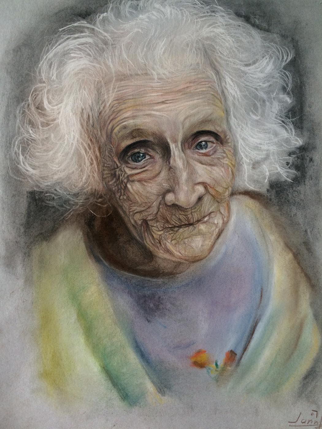 Janna Avetisyan. Старая бабушка
