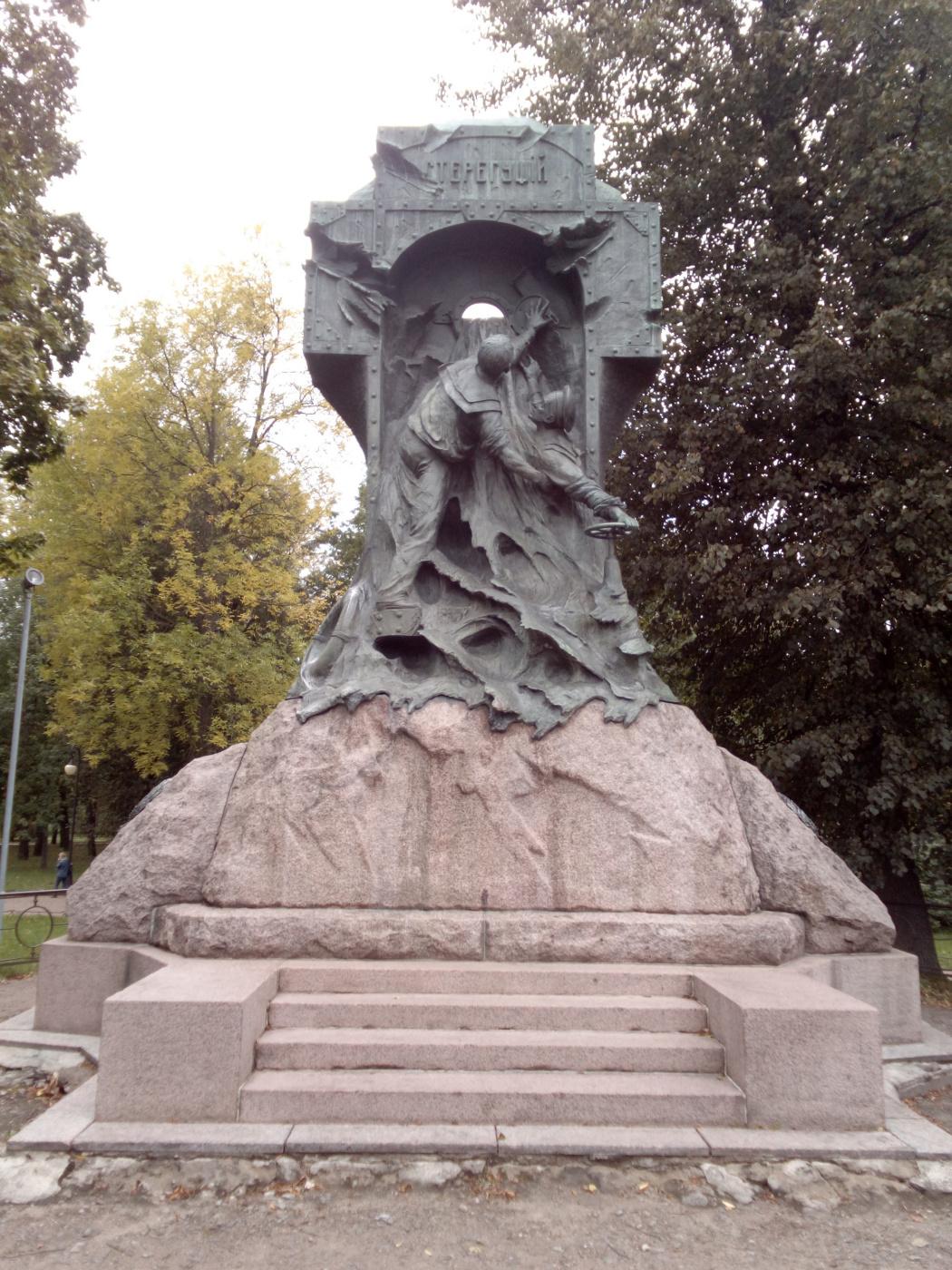"""Алексей Гришанков (Alegri). """"Monument to the heroes"""""""