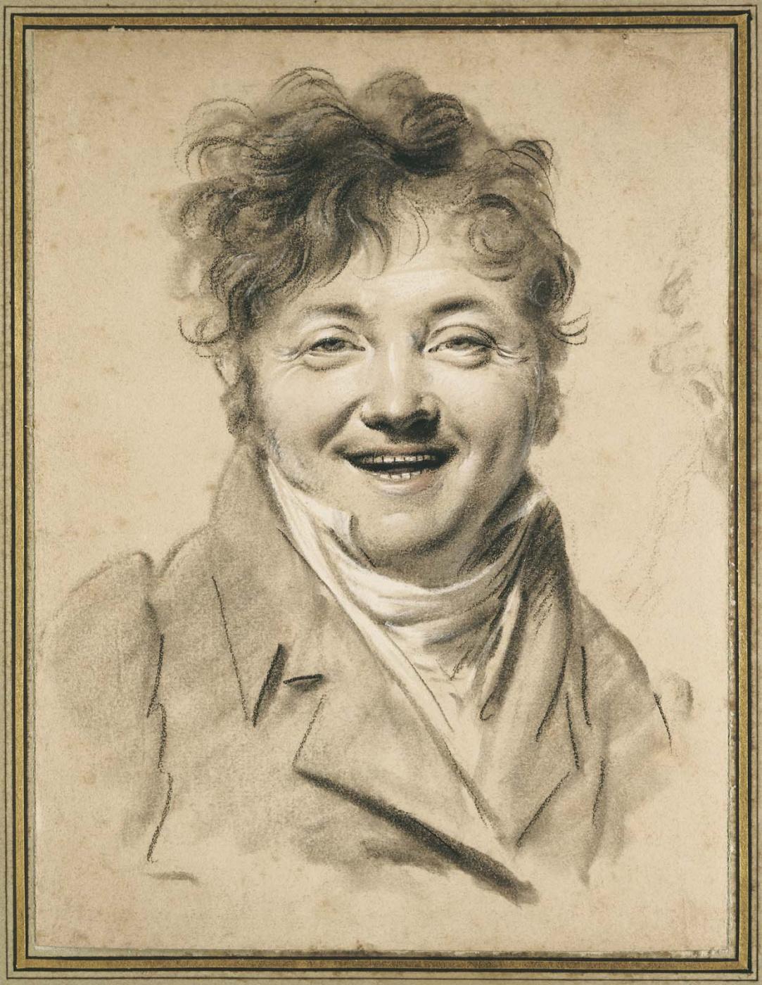 Луи-Леопольд Бойи. Смеющийся человек (Автопортрет)