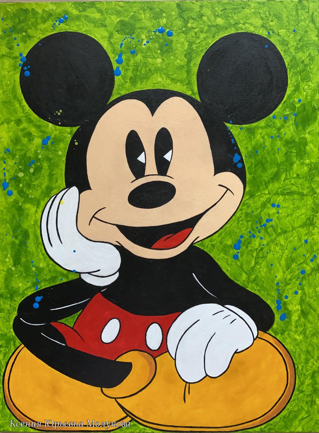 Ksenia Yurievna Molukova. Jolly Mickey Mouse