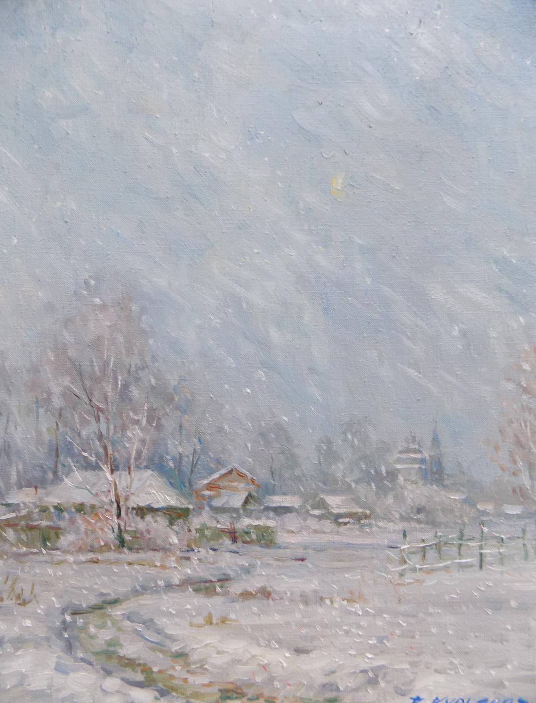 Victor Vladimirovich Kuryanov. The midnight blizzard has ceased