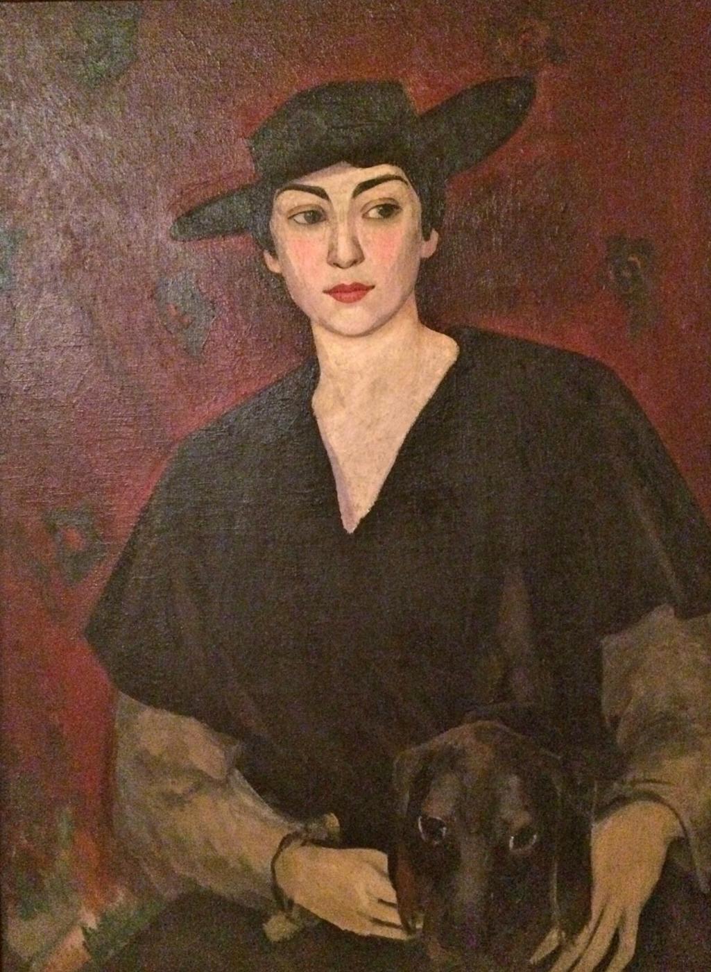 Mikhail Varfolomeevich Leblanc. Portrait of the wife