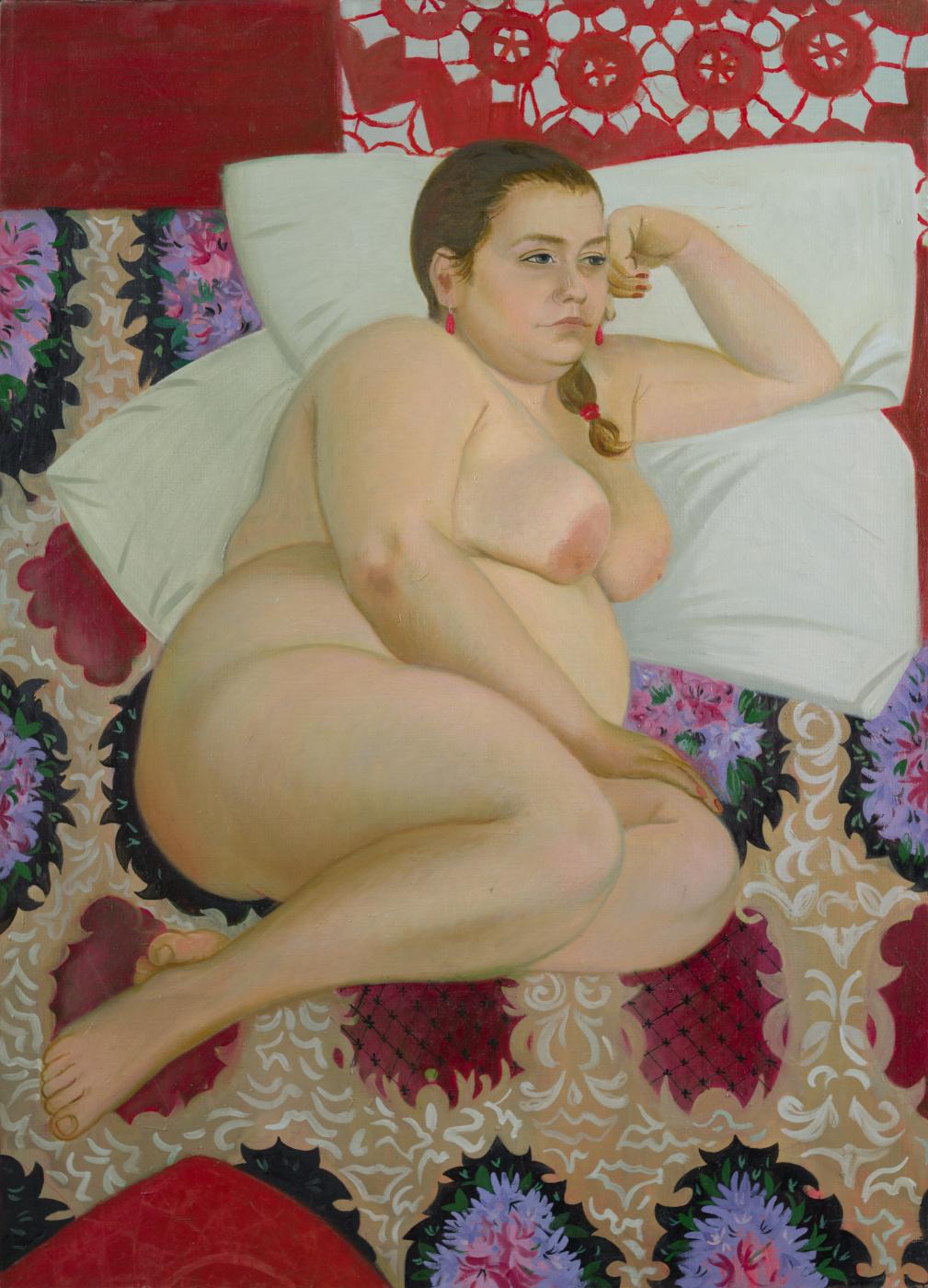 "Valeria Konstantinovna Isyak. ""Kustodievskaya beauty"""