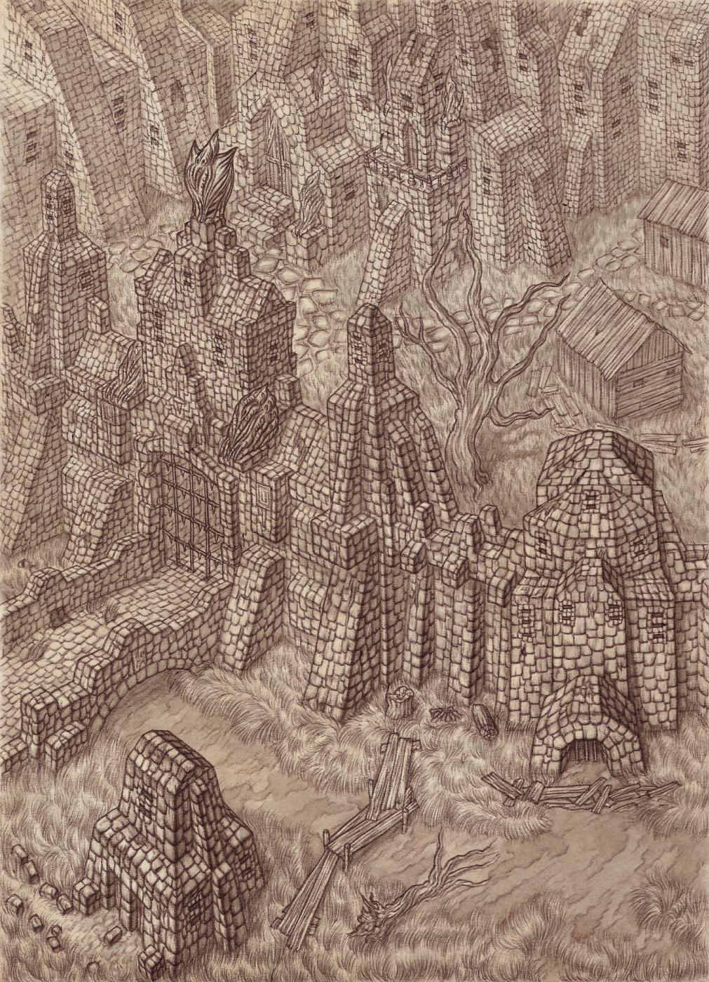 """Vladimir Vladimirovich Khablovsky. Castle of the Order """"D"""""""