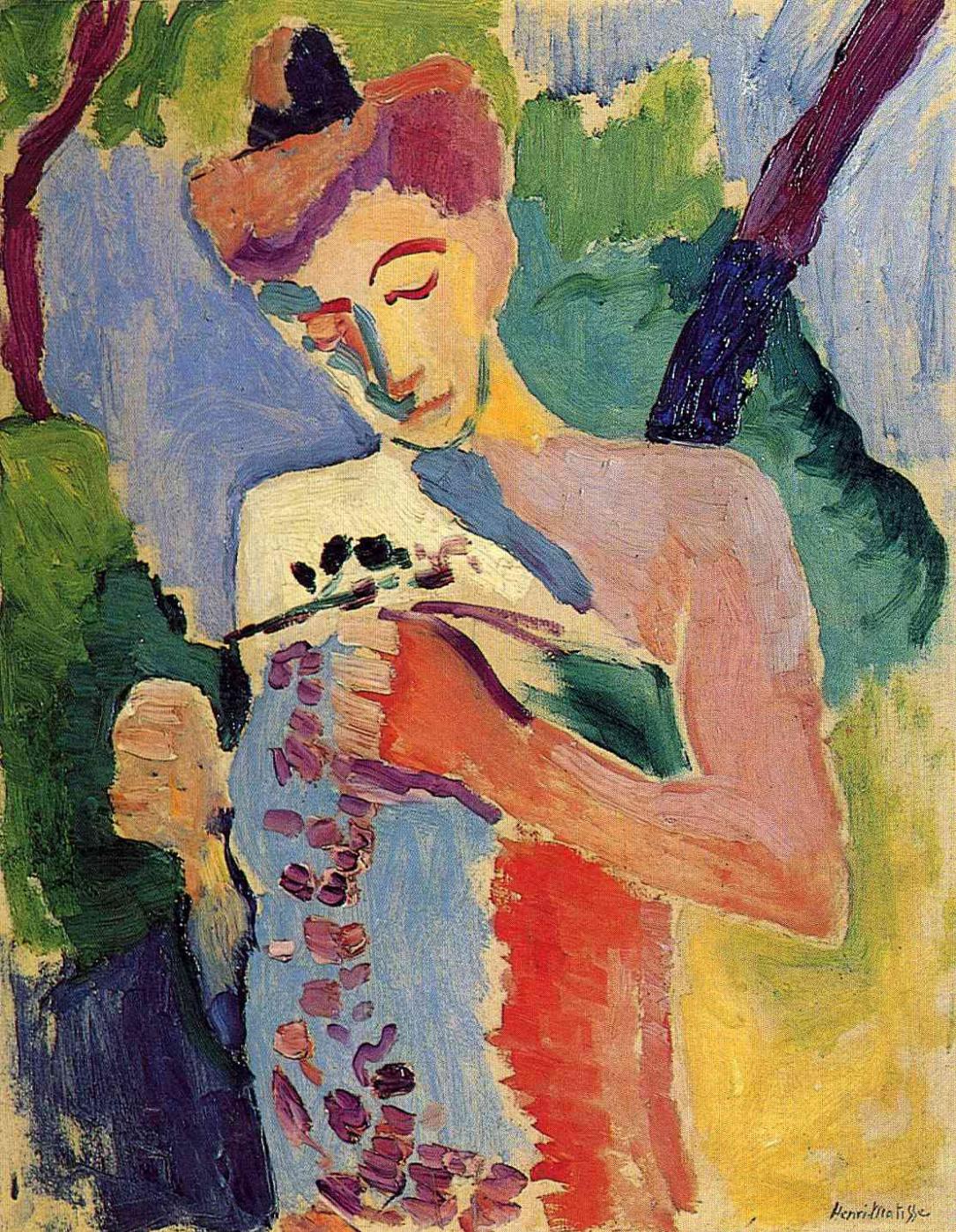 Henri Matisse. Flower branch