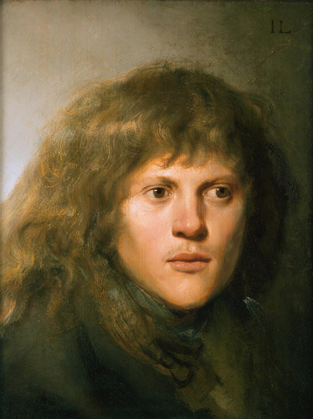 Jan Livens. Self-portrait