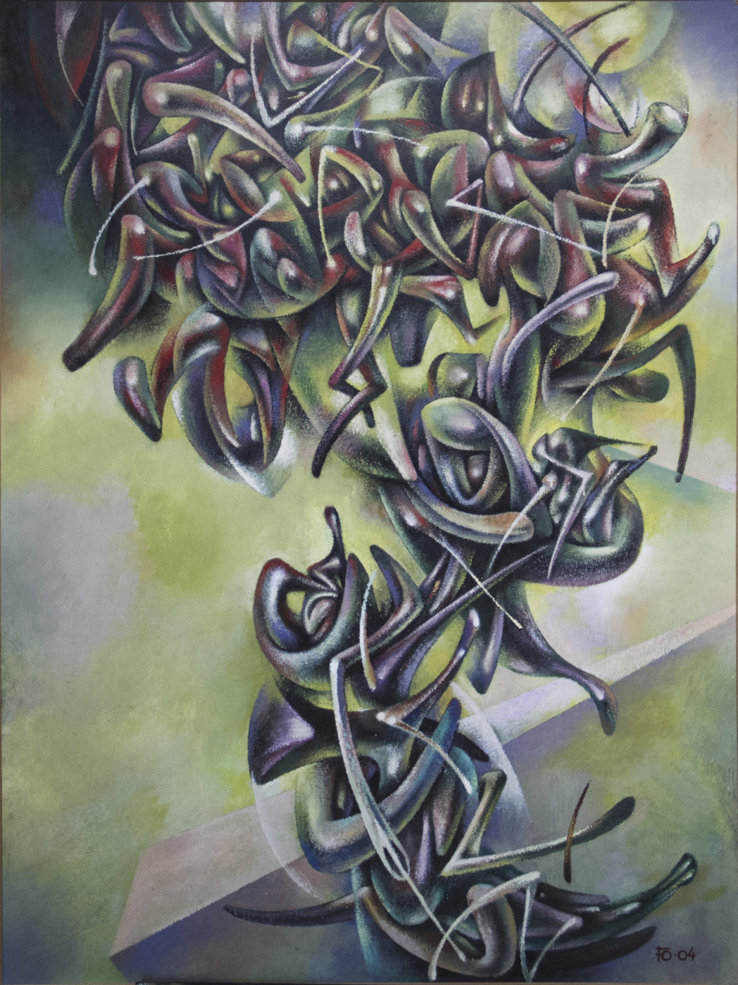 "Yuri Vladimirovich Bizhganov (1939 - 2013). ""Composition"""