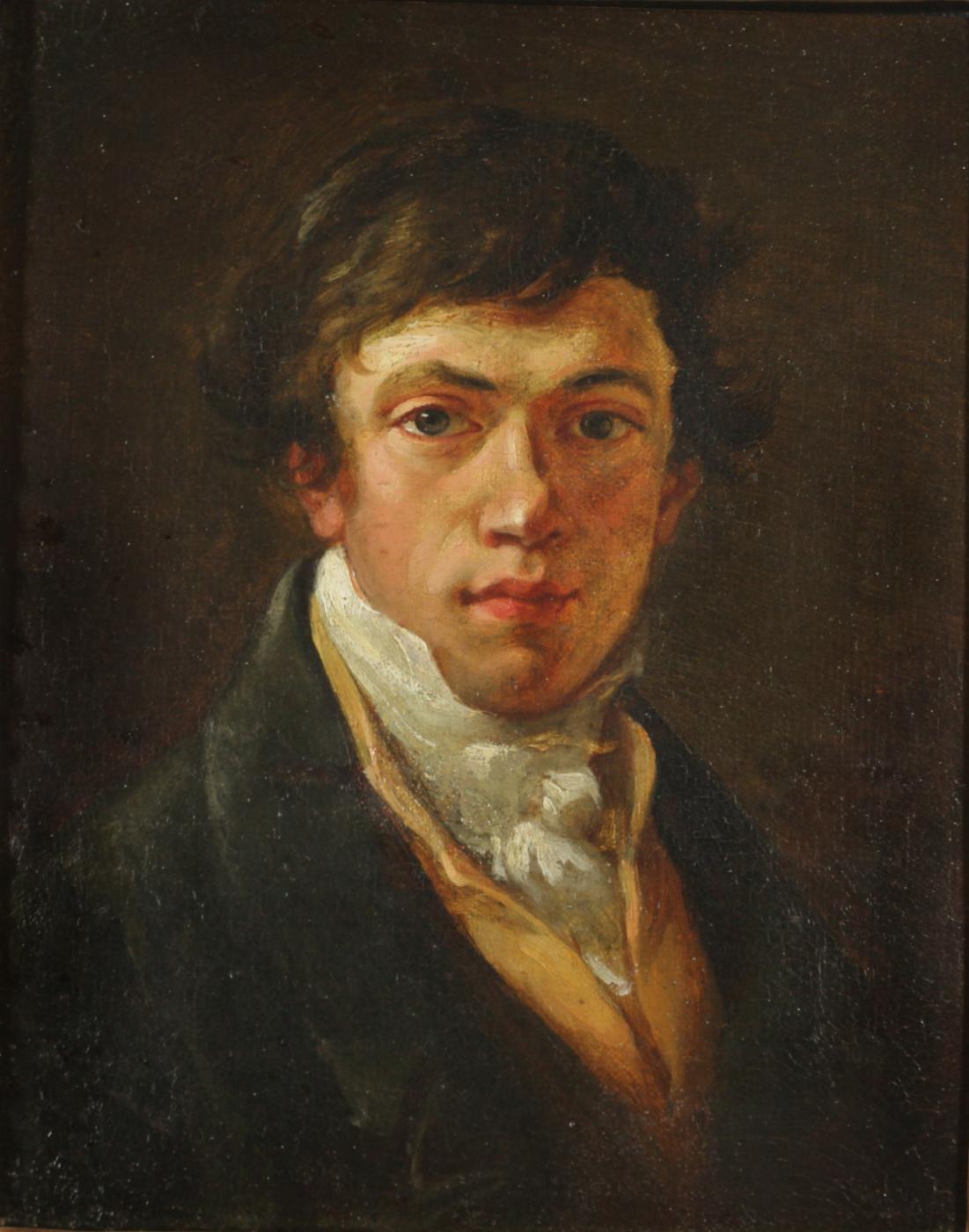 Valentine Mel'chiorovich Vankovich. Self portrait 1830s