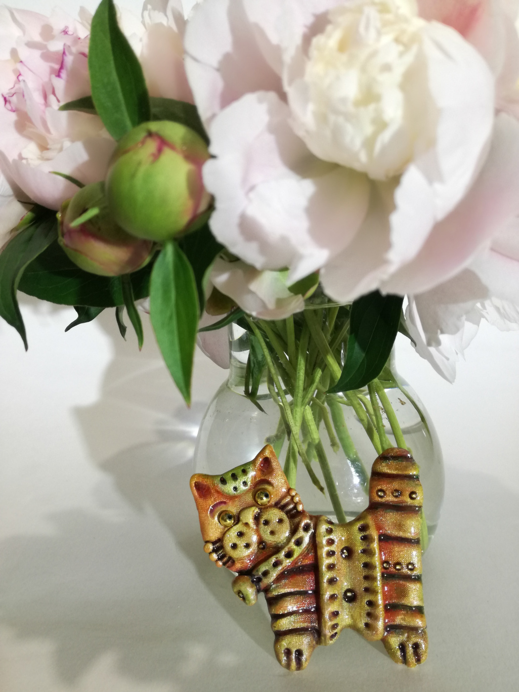 Ирина Александровна Лычагина. Cat brooch