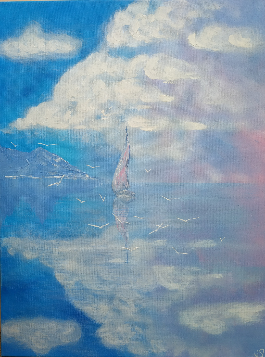 Irina Stukaneva. Sail. Tenderness