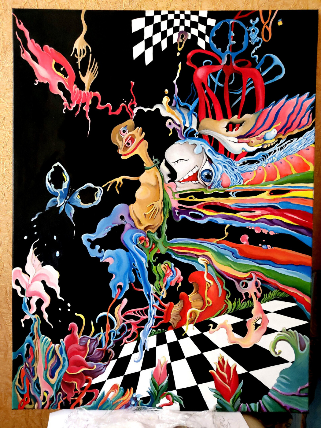 Svetlana Makarova. Butterfly dream