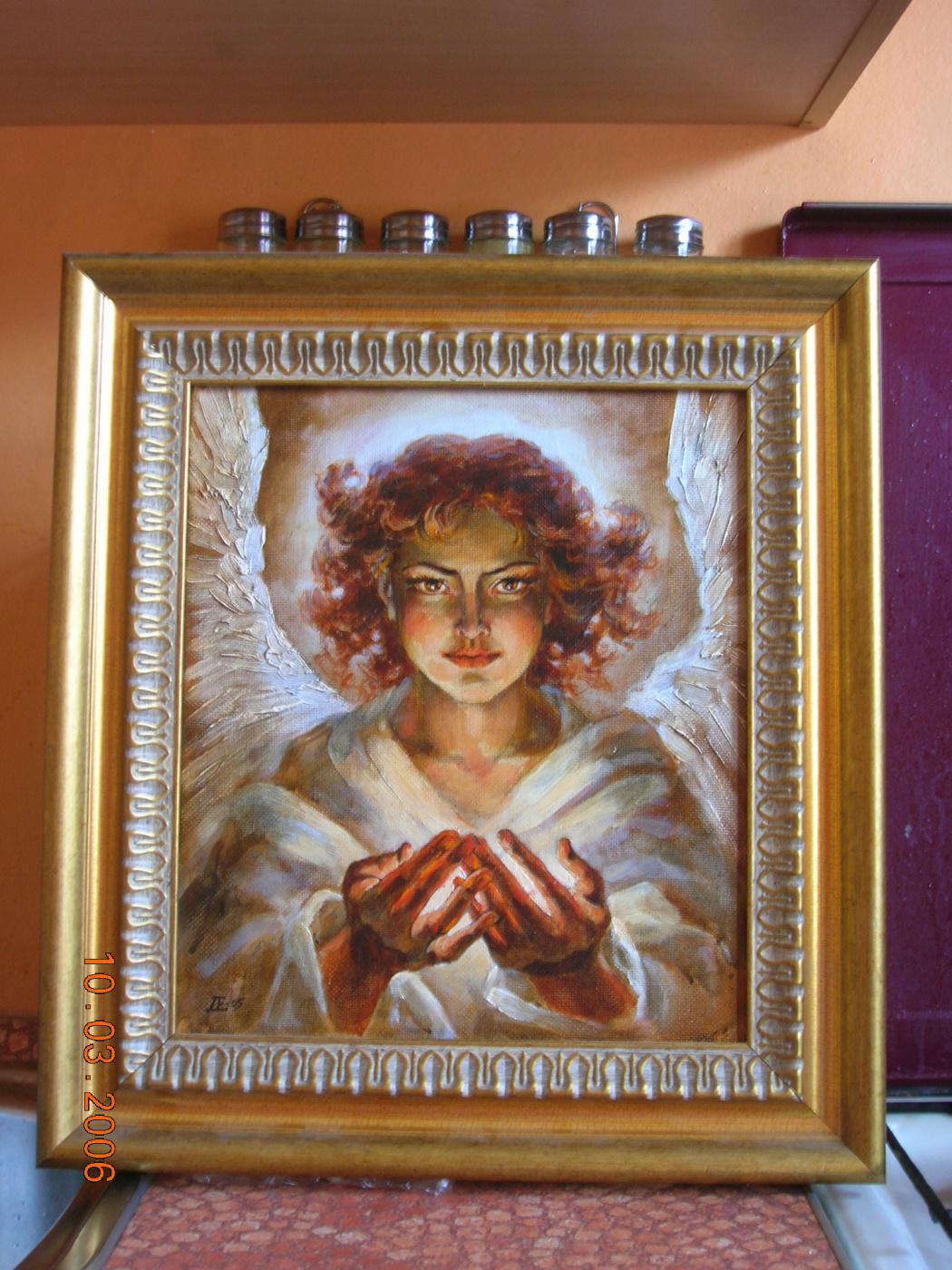 Ekaterina Valerievna Derzhavina. Angel