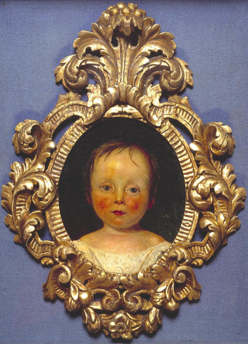 Ford Madox Brown. Portrait of Daksa berry in childhood