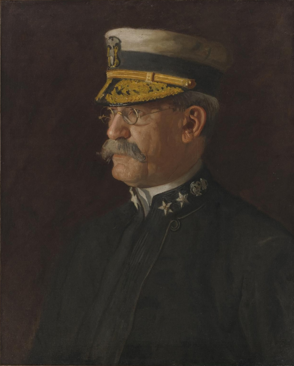 Thomas Eakins. Rear Admiral Charles Dwight, Sigsby