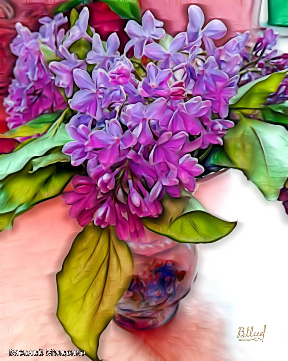 Vasiliy Mishchenko. Flowers 034